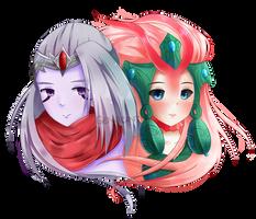 Varus and Nami by genacinth