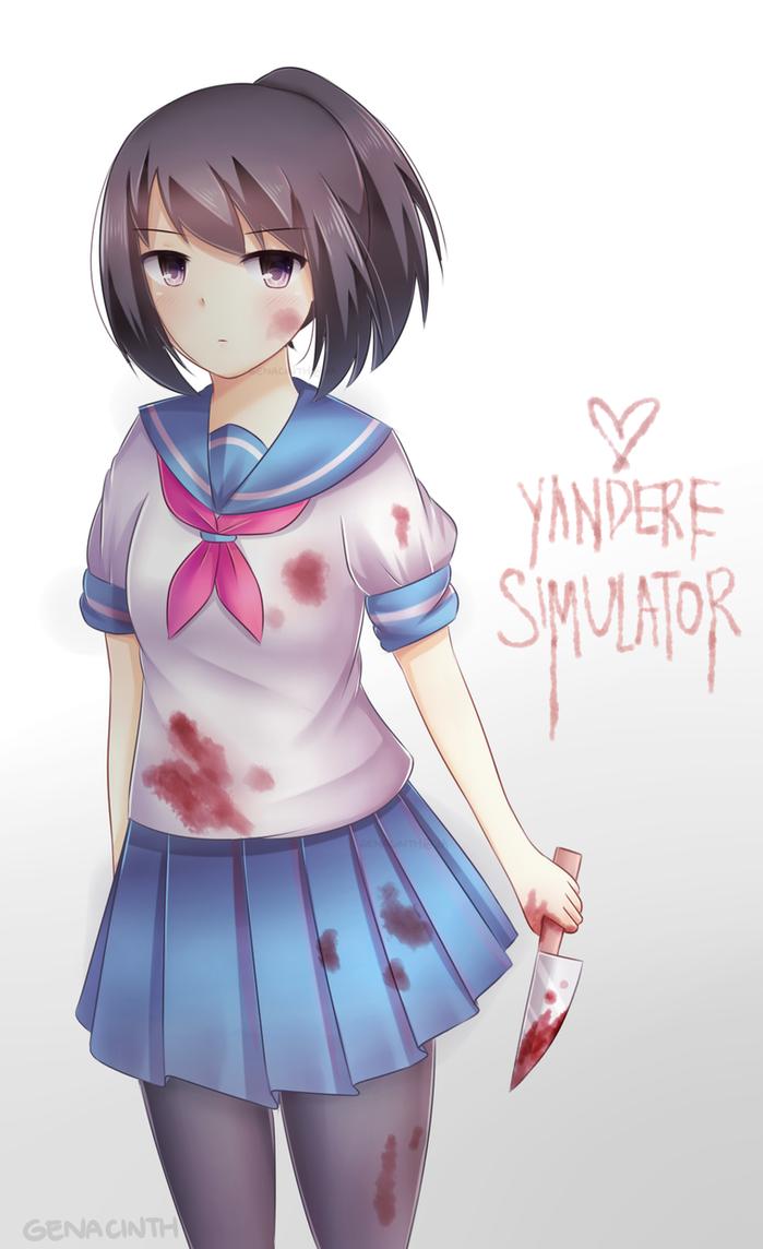 yandere_chan___speedpaint__by_genacinth-