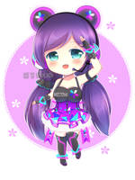 Cyber Nozomi! (+speedpaint) by genacinth