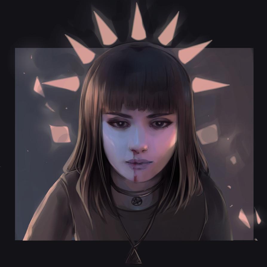 Selfportrait by mirabillisfuture