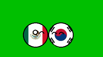 Mexico and South Koreaball by Gmo12