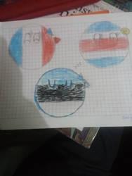 France, Costa Rica, Estonia by Gmo12