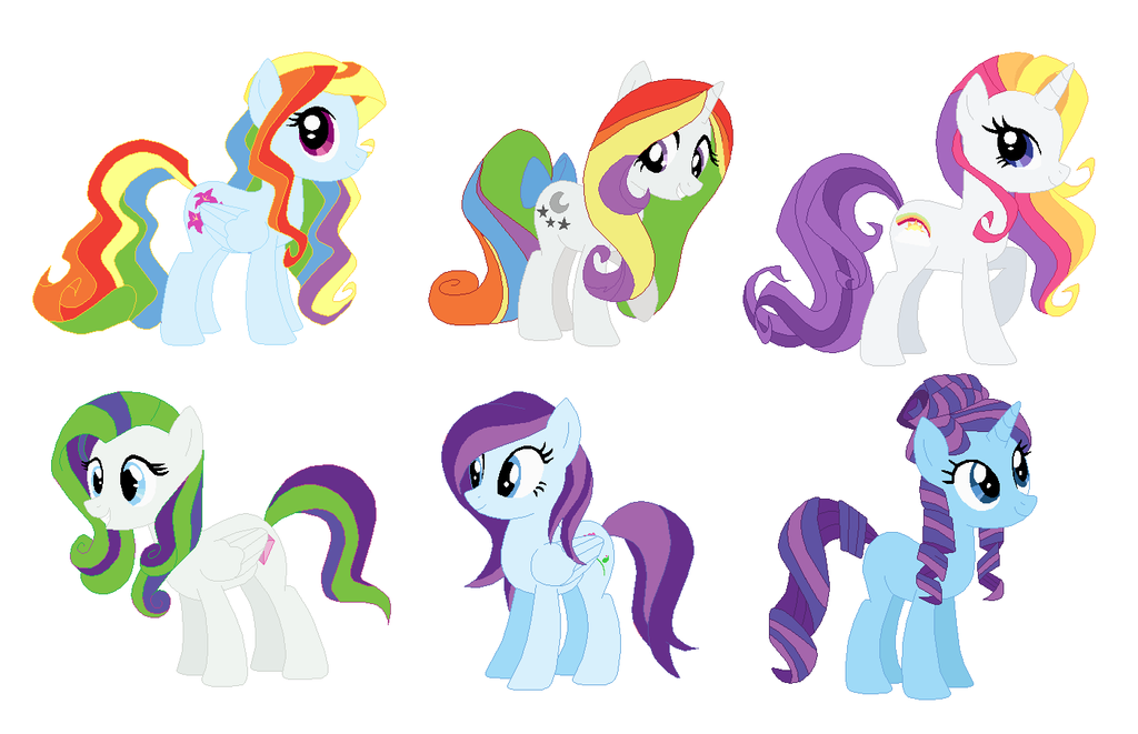 Free My Little Pony Adoptables 2 Left Open By Liltavi On