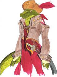 Sagisou the red