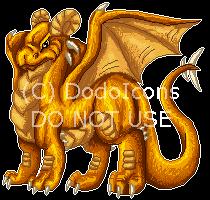 Stoic dragon by DodoIcons