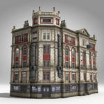 5-Storey House (Low Poly)