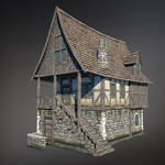 Medieval House (Low Poly)