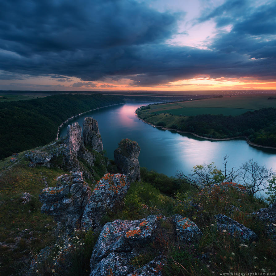 Dniester Canyon, Ukraine by Sergey-Ryzhkov