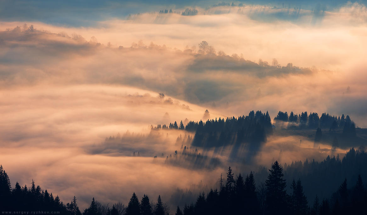 Morning in Carpathians by Sergey-Ryzhkov