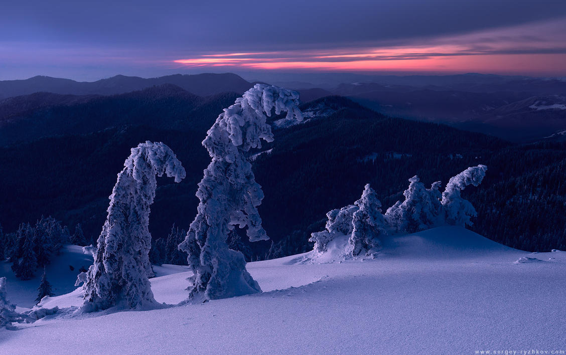 Twilight in Carpathians by Sergey-Ryzhkov