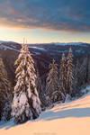 Sunrise on Barvinok Mountain