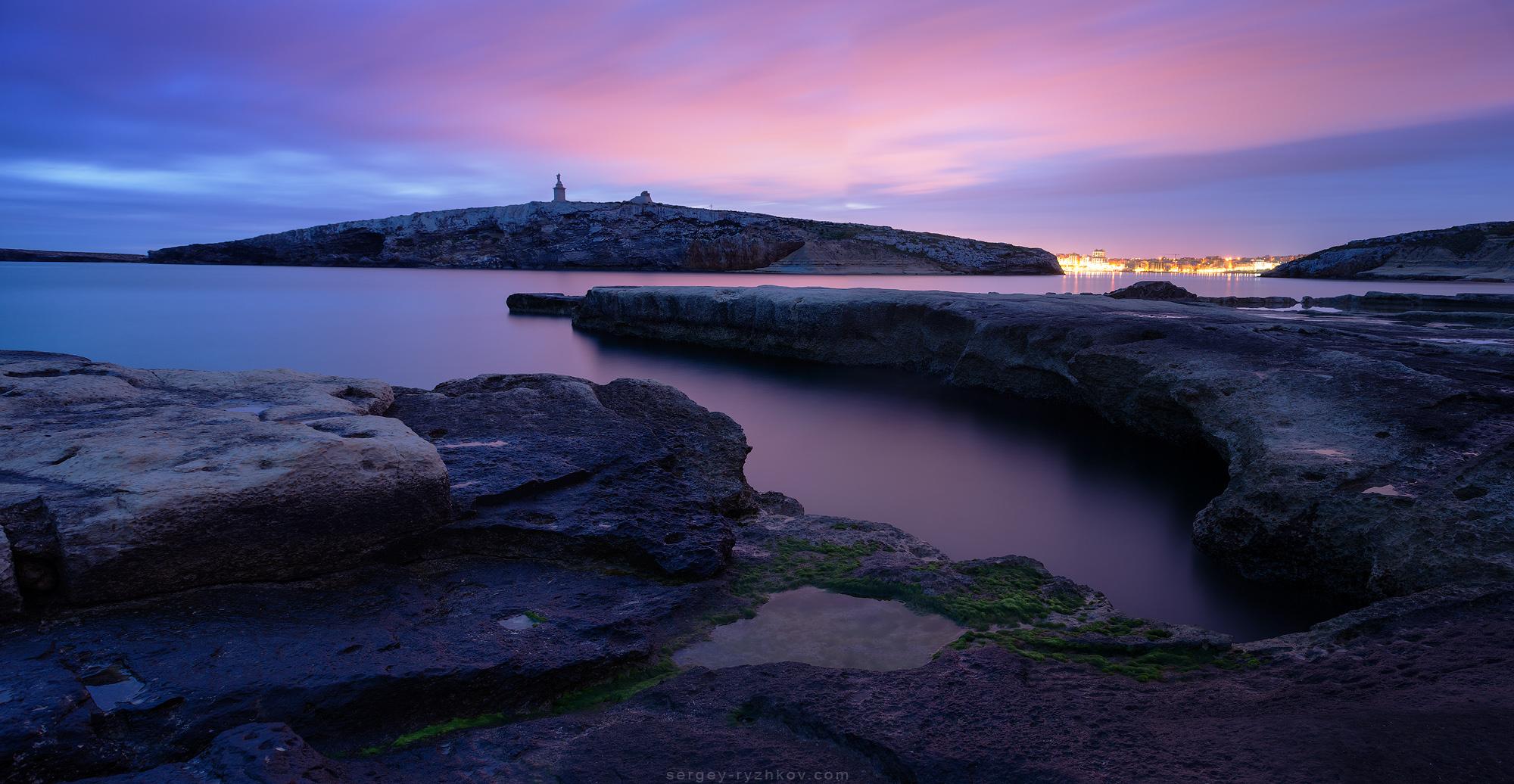 Saint Paul's Island, Malta by Sergey-Ryzhkov