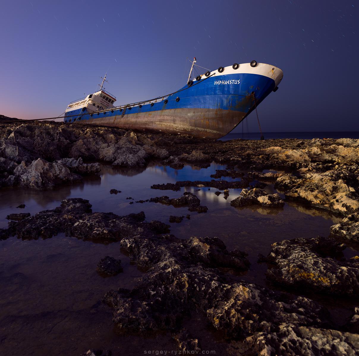 Hephaestus. Qawra, Malta by Sergey-Ryzhkov