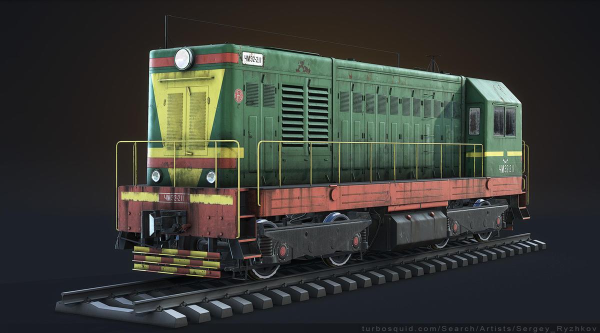 ChME2 Diesel Locomotive by Sergey-Ryzhkov