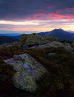 Evening in Gorgany Mountains by Sergey-Ryzhkov