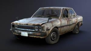 Toyota Corolla E70 Rusty by Sergey-Ryzhkov