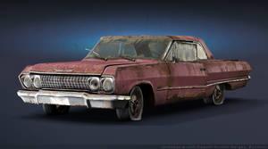 Chevrolet Impala 1963 Rusty