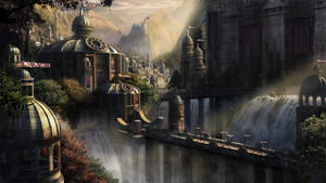 Fantasy City by darcycrane