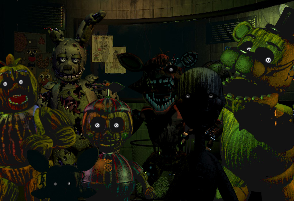 Five nights at freddy s 3 wallpaper by axlslayer117 on deviantart