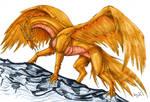 Mycen - the Golden Dragoness