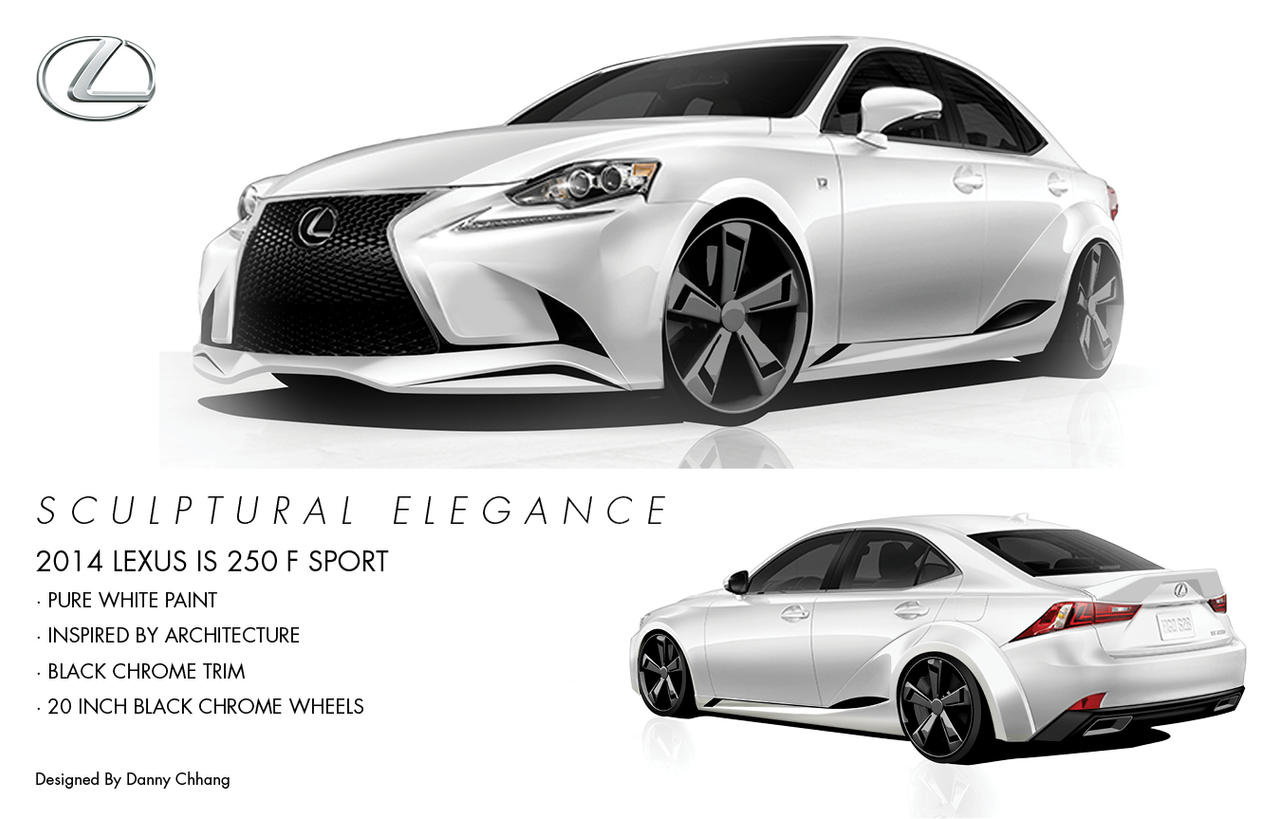 Lexus IS250 Sculptural Elegance by Dannychhang