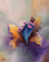 Blossom Blue by Luckyten