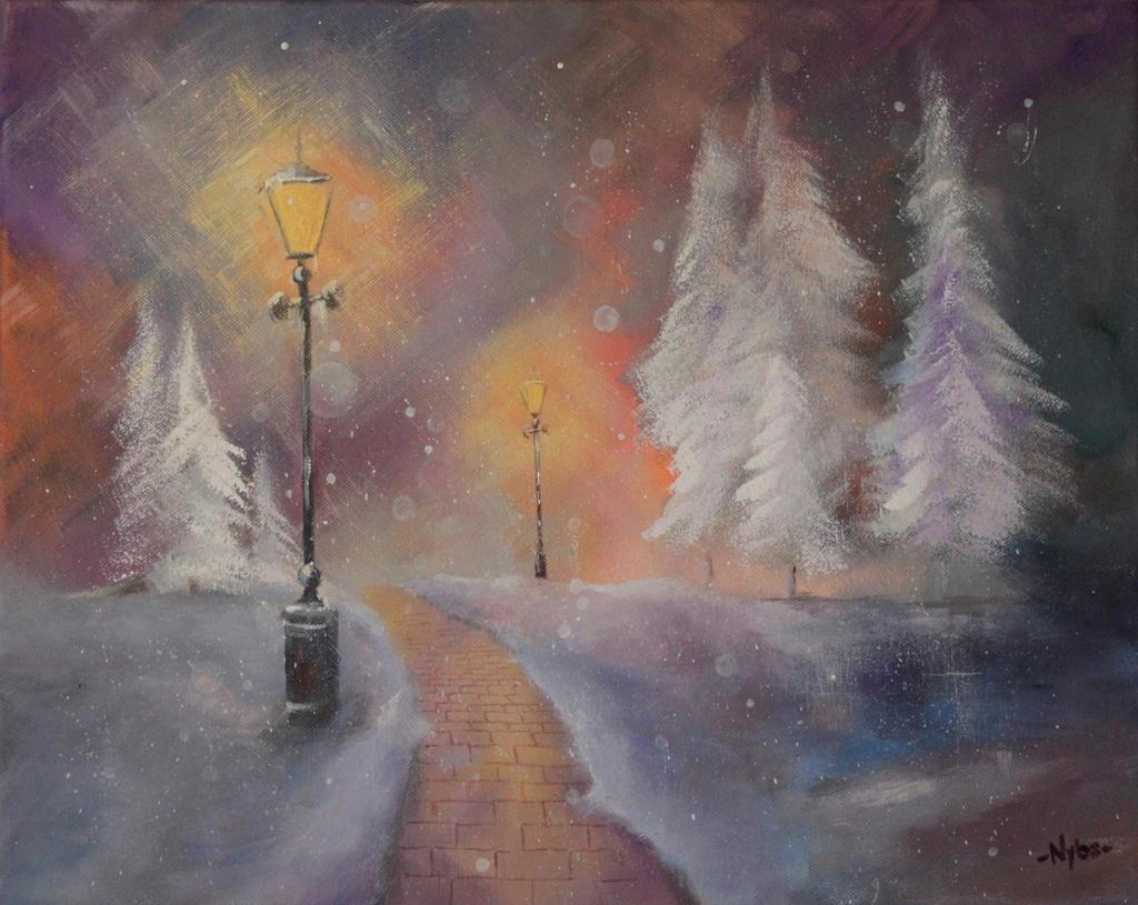 wonderful winter by Luckyten
