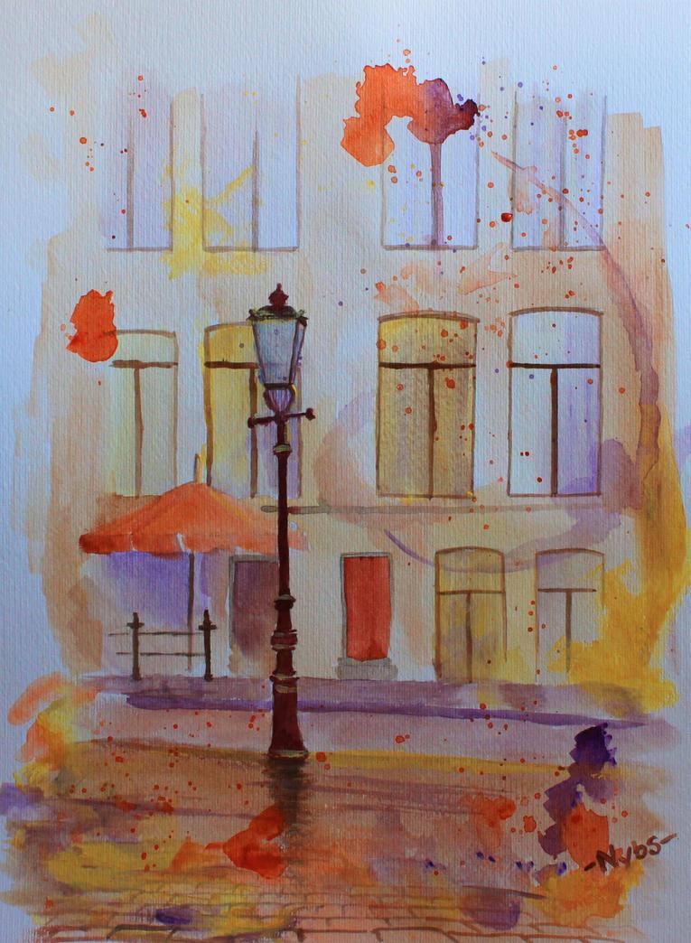 Amsterdam Street by Luckyten