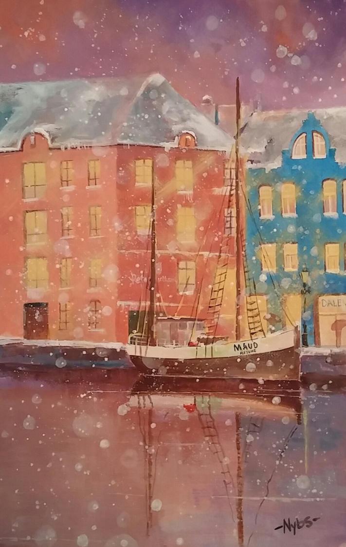 snowy aalesund by Luckyten