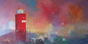molja lighthouse by Luckyten