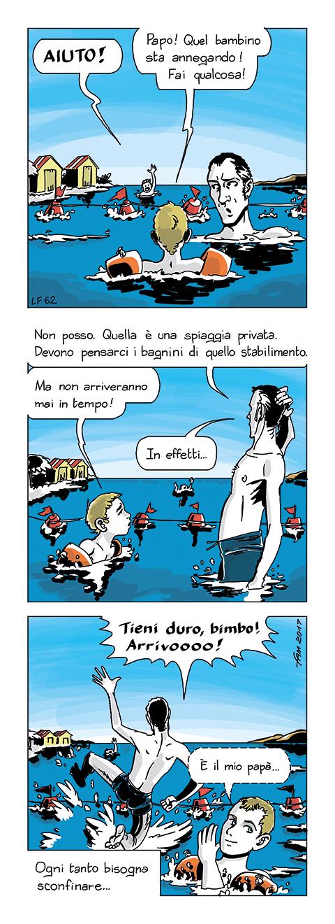 Acque territoriali by Fumettidifam