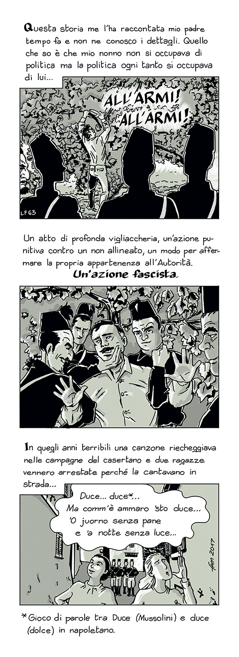 Comm' e' ammaro... by Fumettidifam