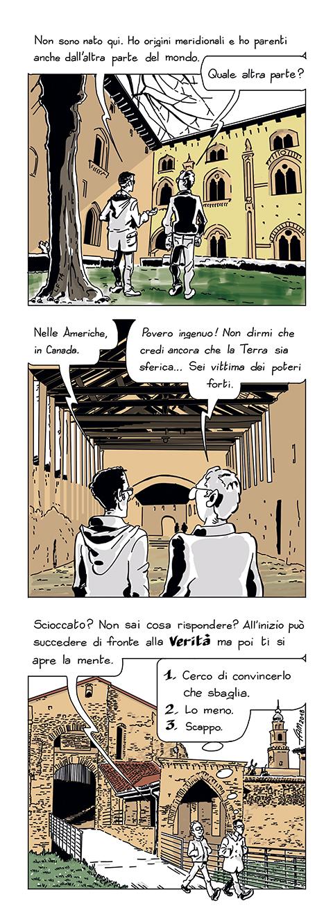 Piatta come un encefalogramma by Fumettidifam