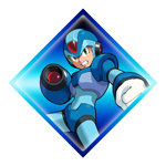 Megaman X Stamp by Eye-Of-Deidara