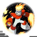 Fire Man Stamp by Eye-Of-Deidara