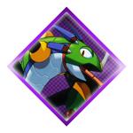 Sting Chameleon Stamp by Eye-Of-Deidara