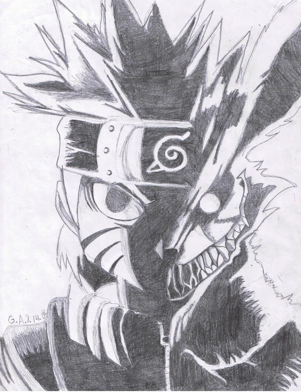 Naruto- Nine Tailed Fox by twilightprincesslove on DeviantArt  Naruto- Nine Ta...