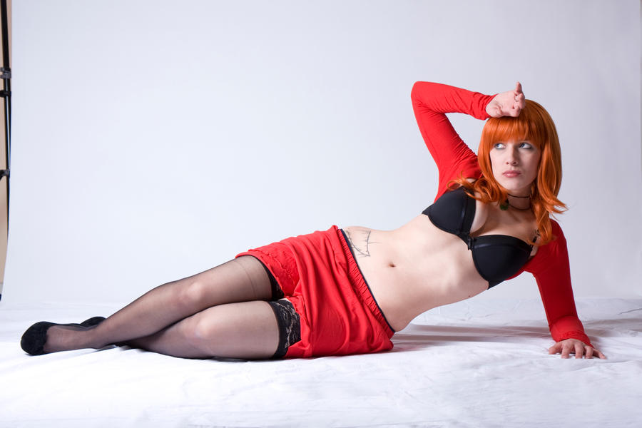 Red Lady 2 by MissSouls-stock