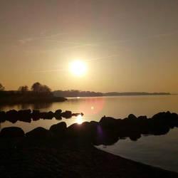 Sundown on Fleckeby, Germany by Alayaphi24