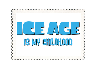 Ice Age Chilldhood Stamp by 4-Chap