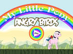 My Little Pony Angry Birds Title by 4-Chap