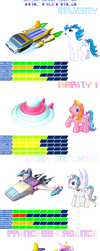 MLP Space Racers Royals by 4-Chap