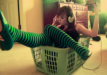 laundry music:: part two by brittsperspective