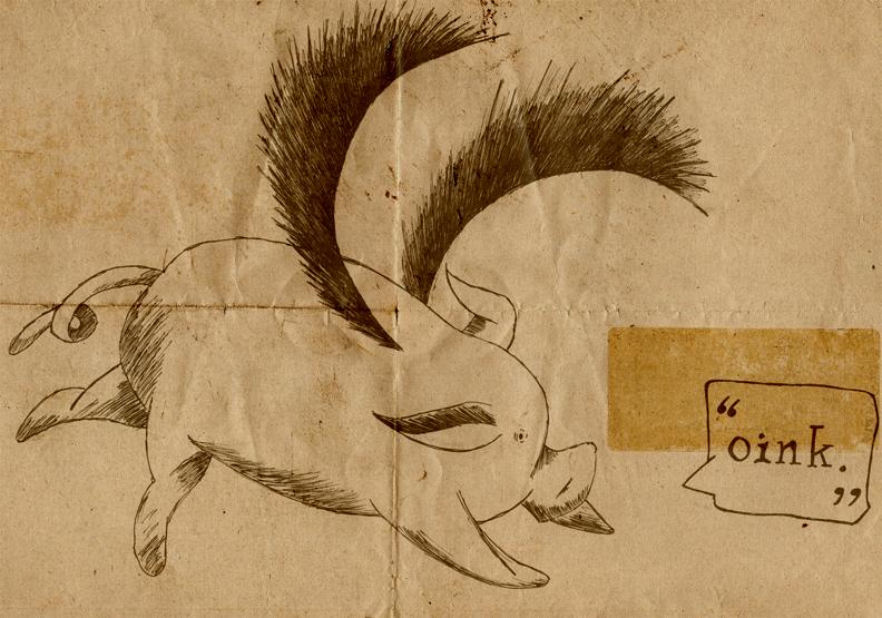 pigasus by boywhodraws