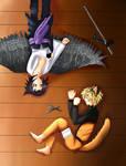 Sasuke And Naruto: Friends?