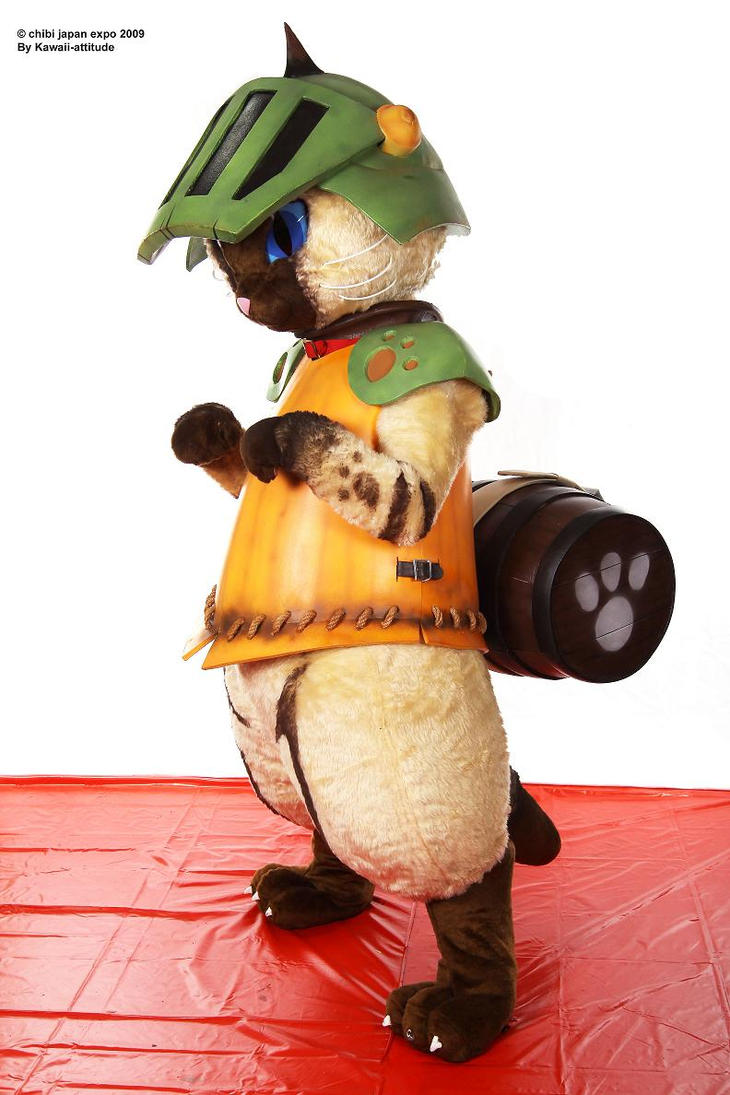 Airou cat Monster hunter 10 by Shoko-Cosplay