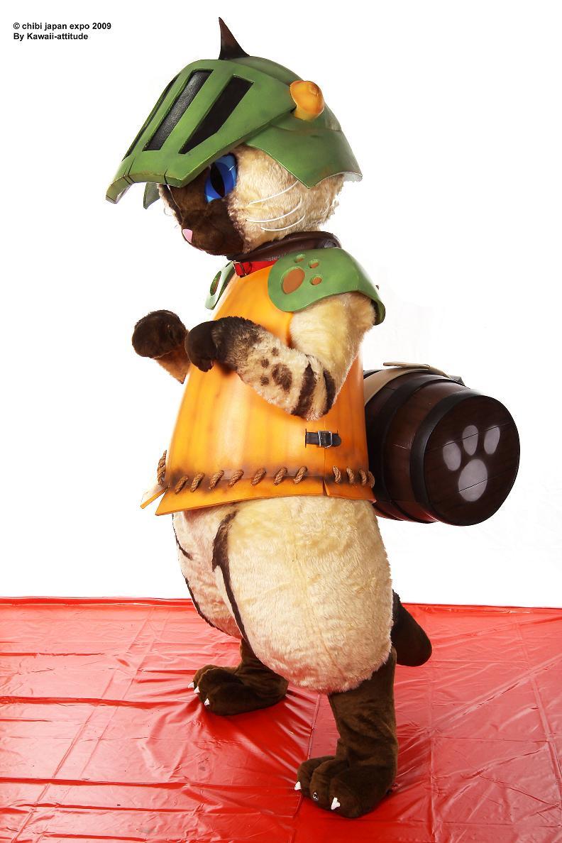 Airou cat Monster hunter 10 by Shoko-Cosplay