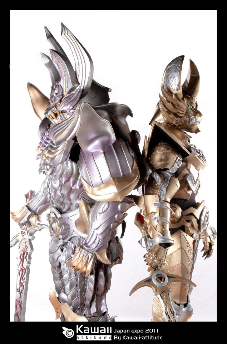 Dark and Gold knights. by Shoko-Cosplay