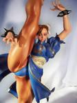 Chun-Li High kick