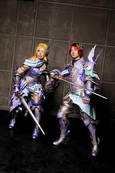 Freya and Frey.